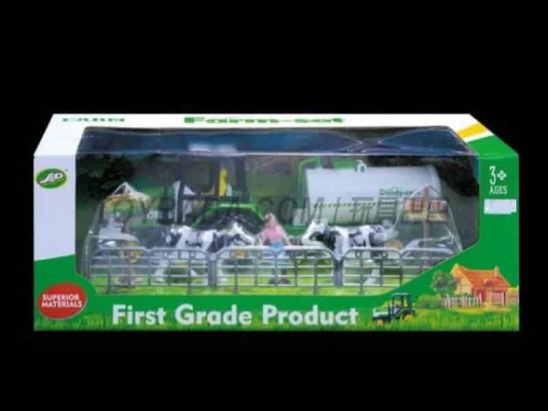 Boxed sets of sliding farmer car Farms No.:JC824
