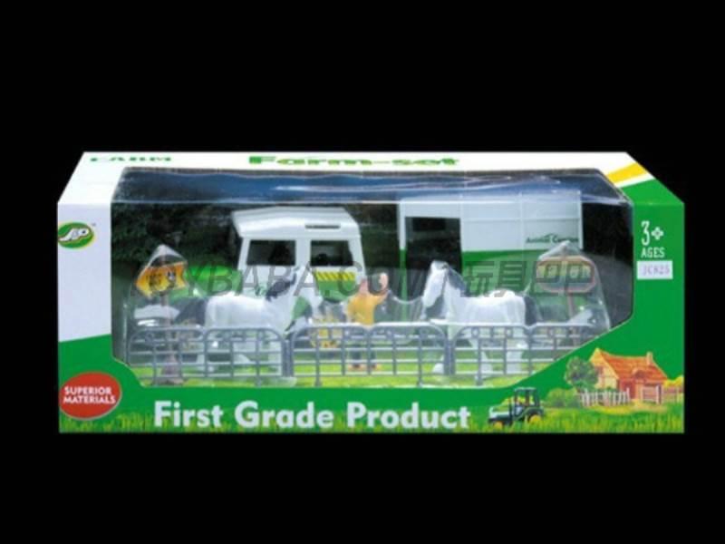 Boxed sets of sliding farmer car Farms No.:JC825