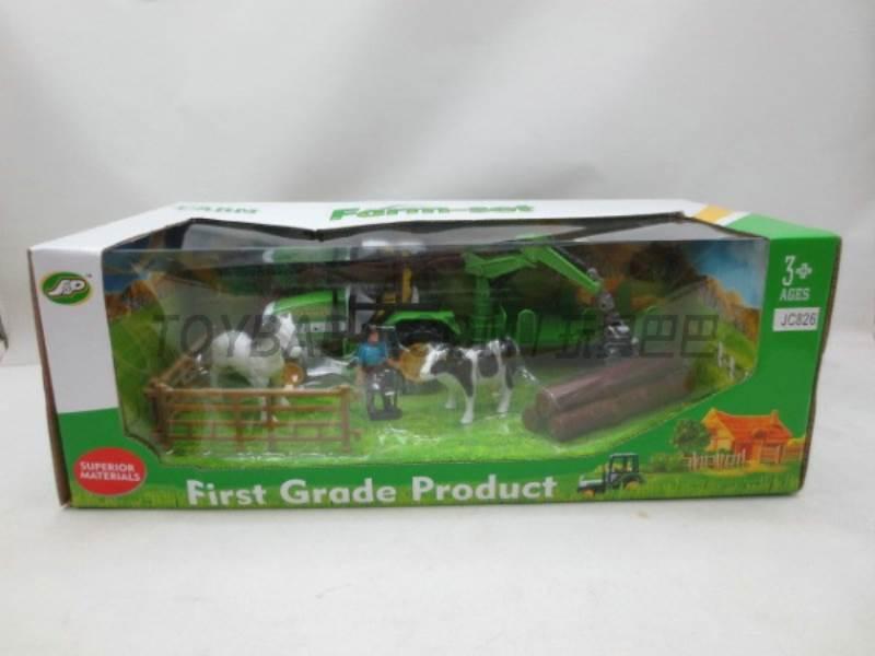 Boxed sets of sliding farmer car Farms No.:JC826