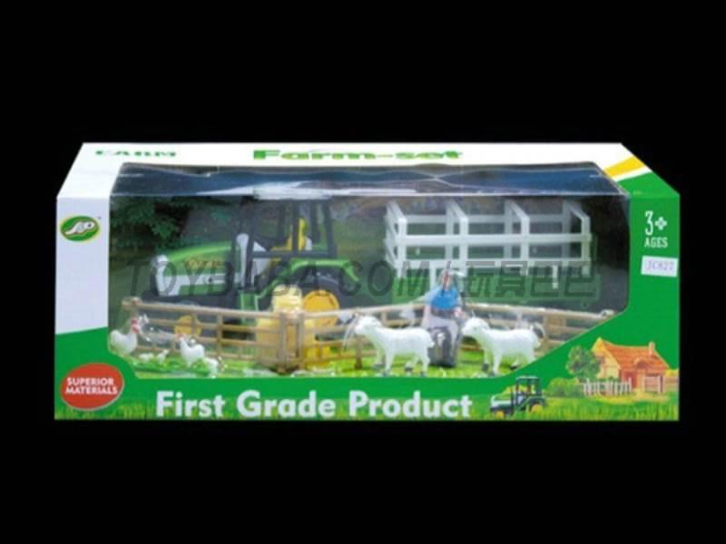 Boxed sets of sliding farmer car Farms No.:JC827