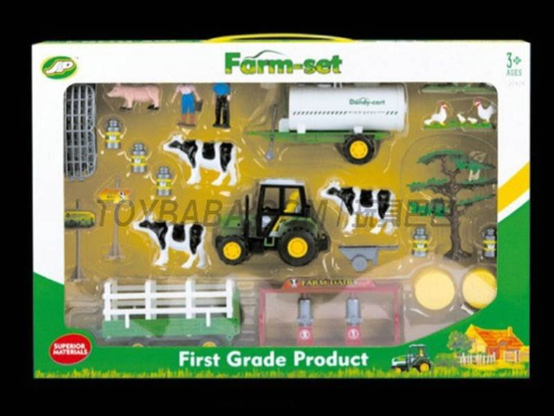 Boxed sets of sliding farmer car Farms No.:JC828