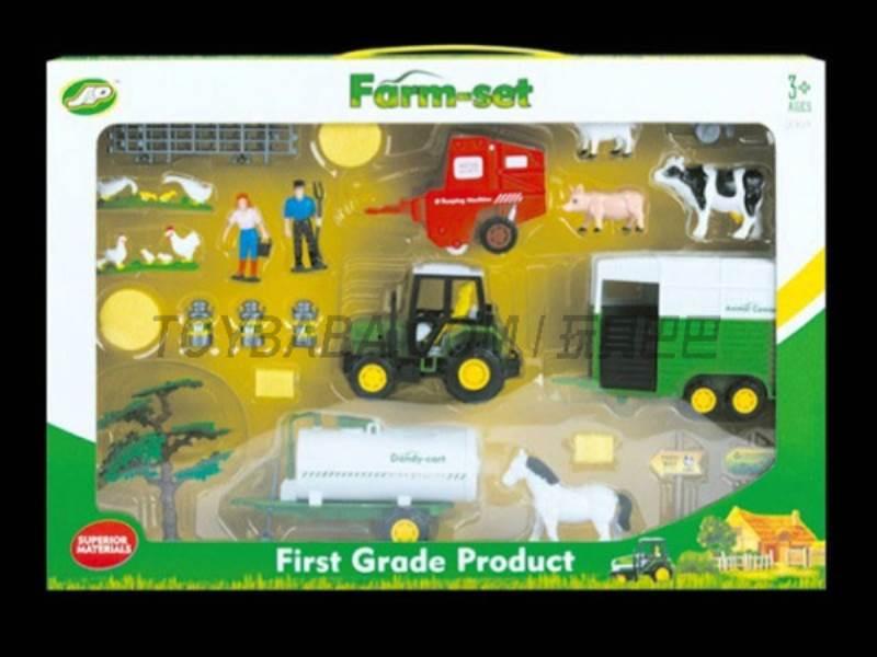 Boxed sets of sliding farmer car Farms No.:JC829