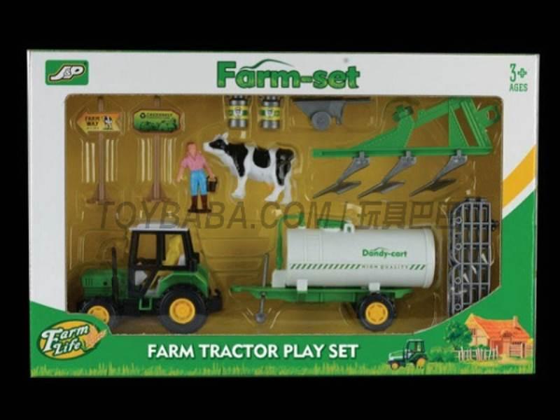 Boxed sets of sliding farmer car Farms No.:JC830