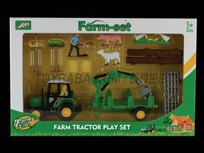 Boxed sets of sliding farmer car Farms No.:JC832