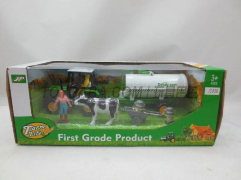 Boxed sets of sliding farmer car Farms No.:JC836