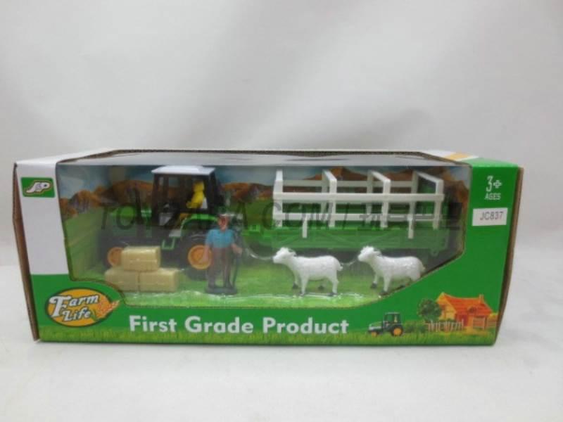 Boxed sets of sliding farmer car Farms No.:JC837
