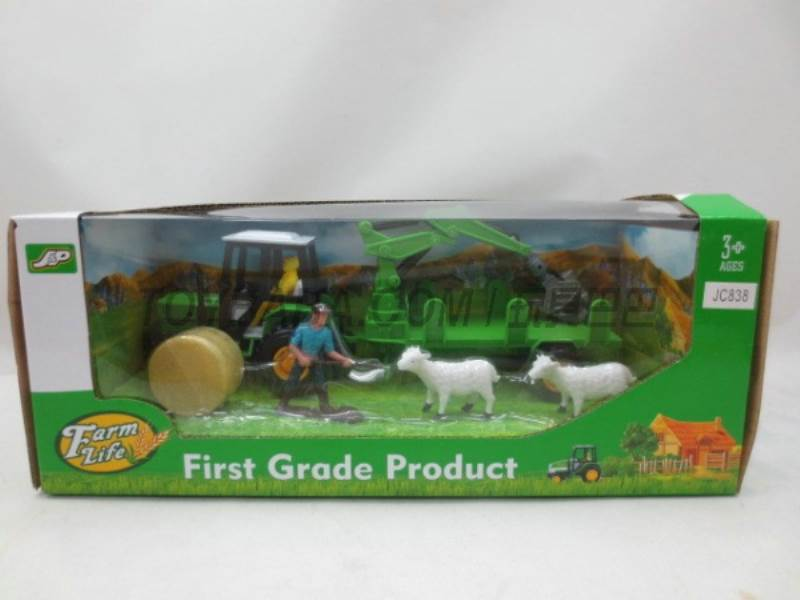 Boxed sets of sliding farmer car Farms No.:JC838
