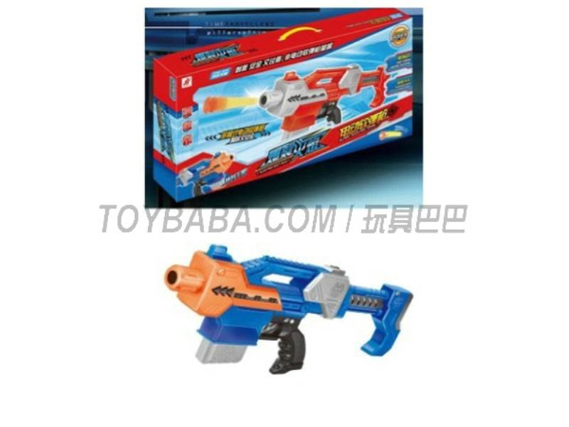 Electric soft gun ( with a small clip large clip)  No.:5807