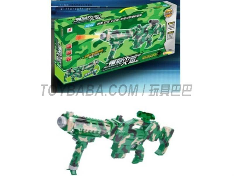 Camouflage electric soft gun No.:5810