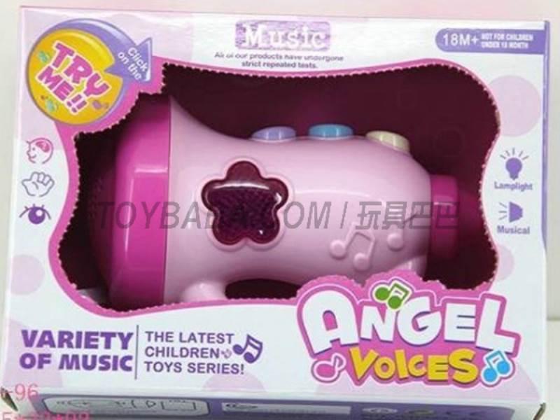 Cartoon Music Speaker ( pack of AA batteries ) No.:JLD333-4B
