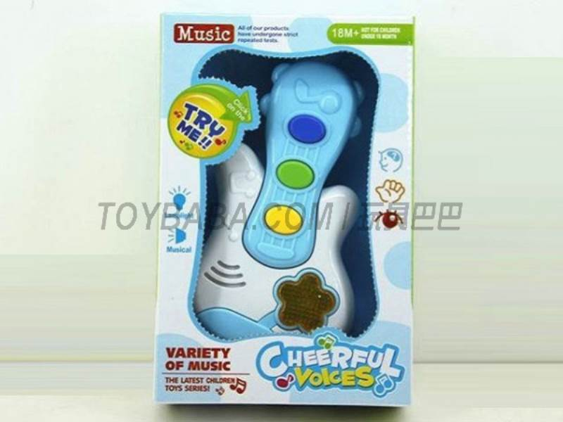Cartoon Music Guitar ( pack of AA batteries ) No.:JLD333-3A