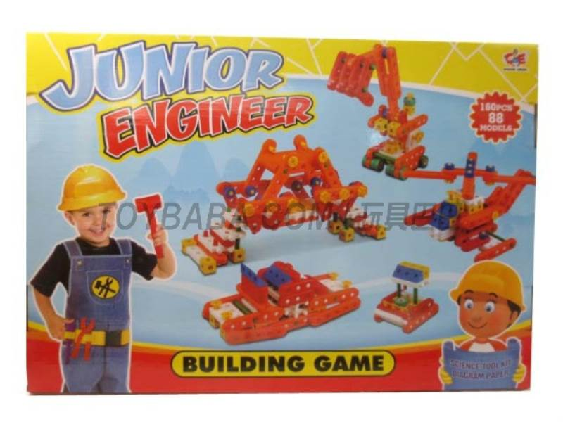 Goose engineers building blocks assembled game No.:880-11