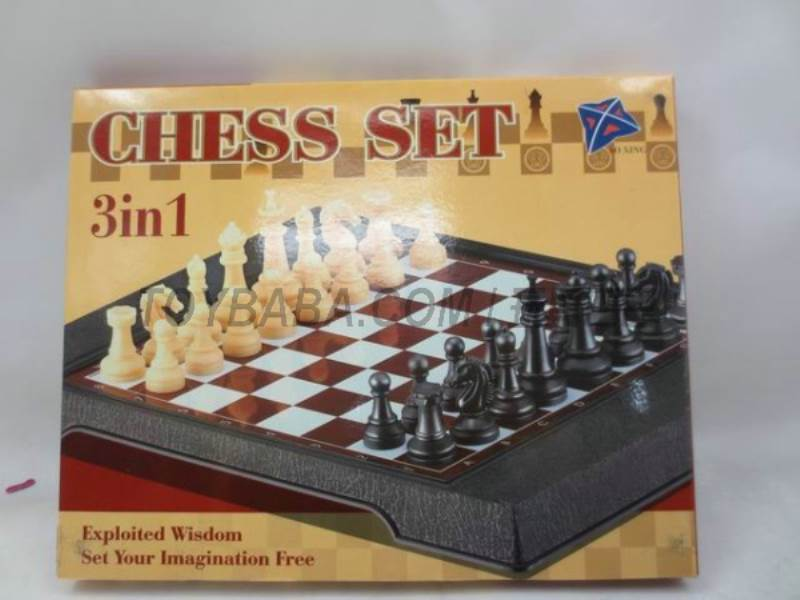 International chess 3 -in-1 ( magnetic) No.:3608