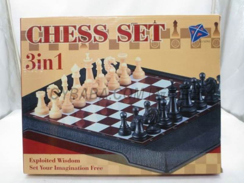 International chess 3 -in-1 ( magnetic) No.:3708