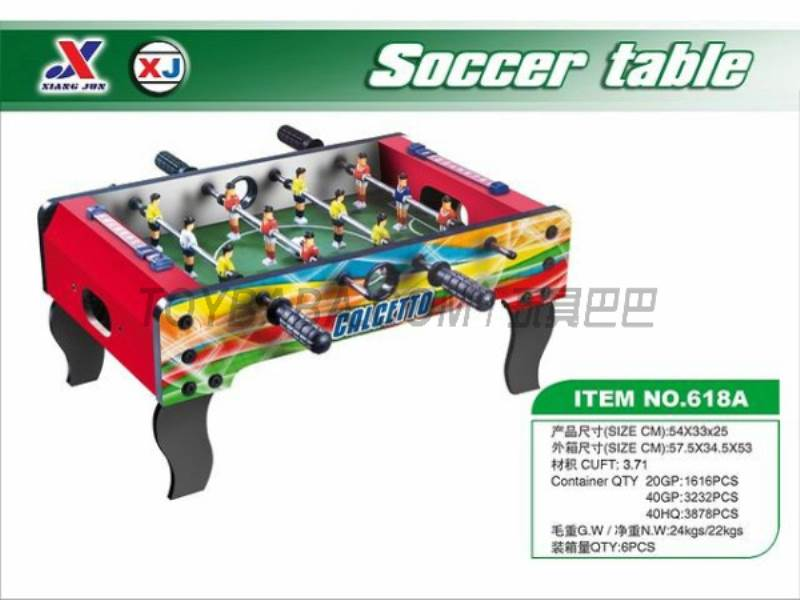 Soccer Table (1 paragraph 1 color) No.:618A
