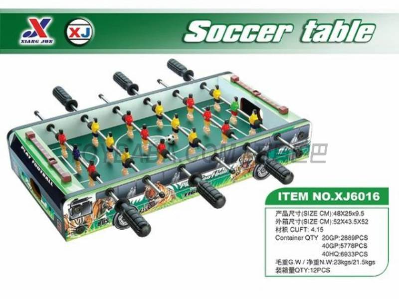 Soccer Table (1 paragraph 1 color) No.:XJ6016