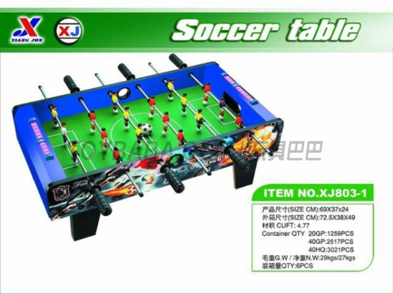 Soccer Table (1 paragraph 1 color) No.:XJ803-1