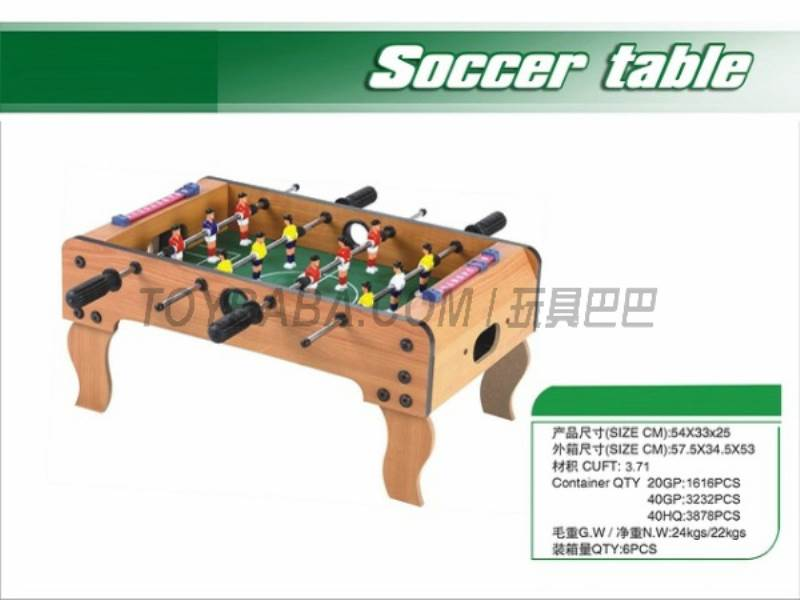 Football table No.:618