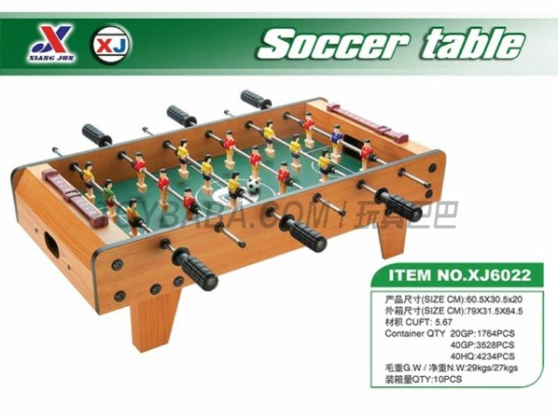 Football table No.:XJ6022