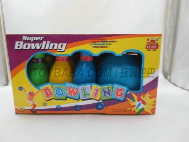 7-inch Solid Color Bowling No.:Feb-09