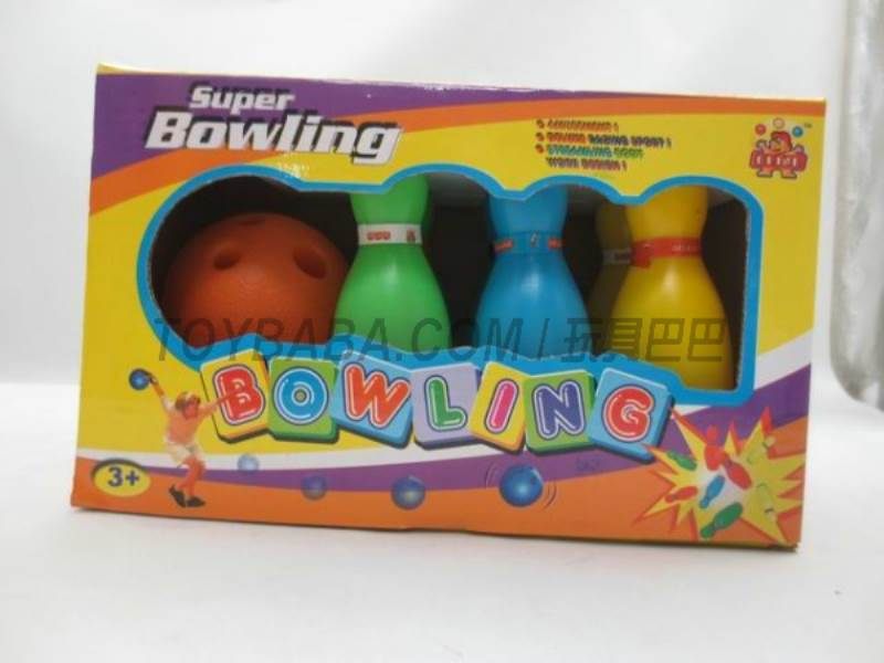 4.5 -inch Solid Color Bowling No.:Feb-10