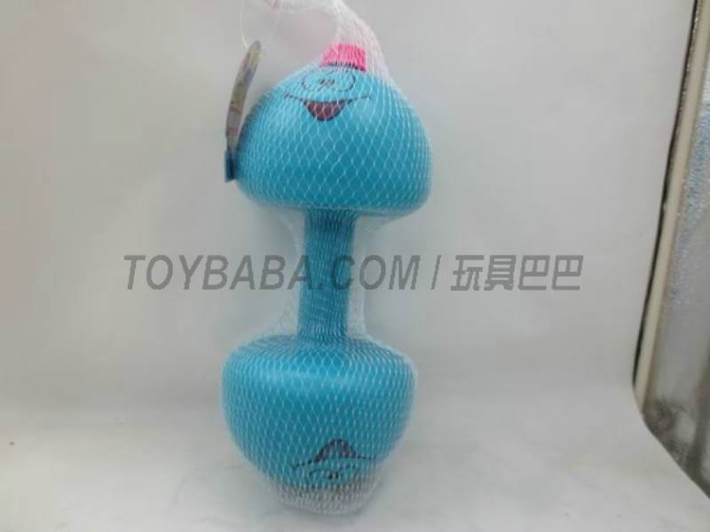 Mesh bag smiley dumbbell No.:945