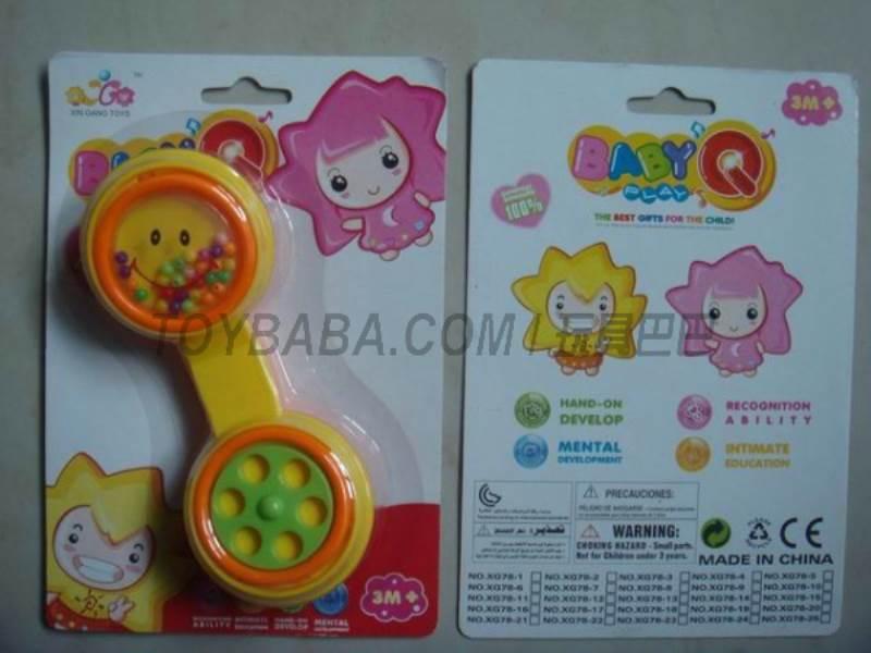 Baby rattles No.:XG78-3