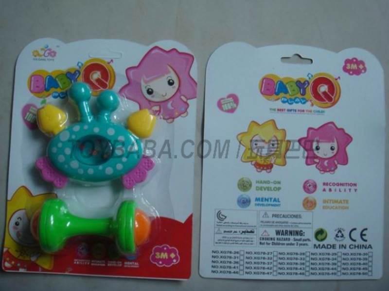 Baby rattles No.:XG78-32
