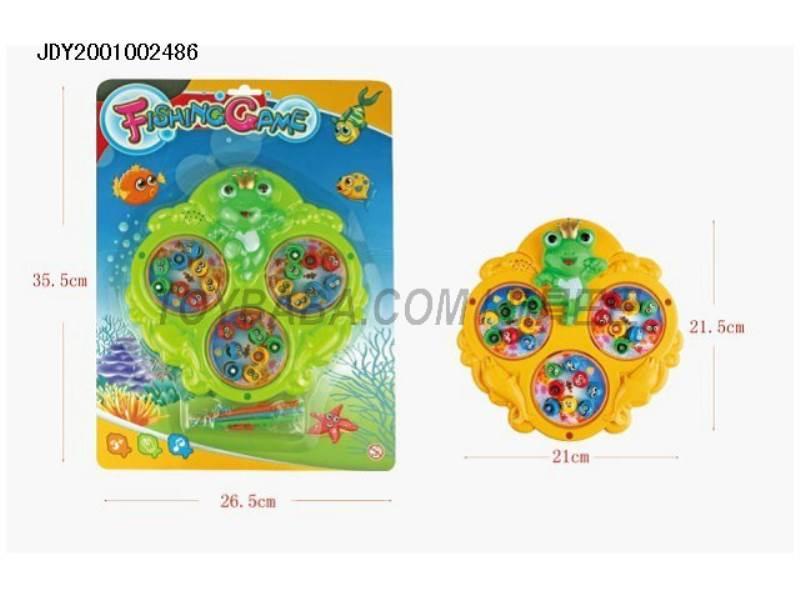 Cartoon frog electric music fishing No.:1306B