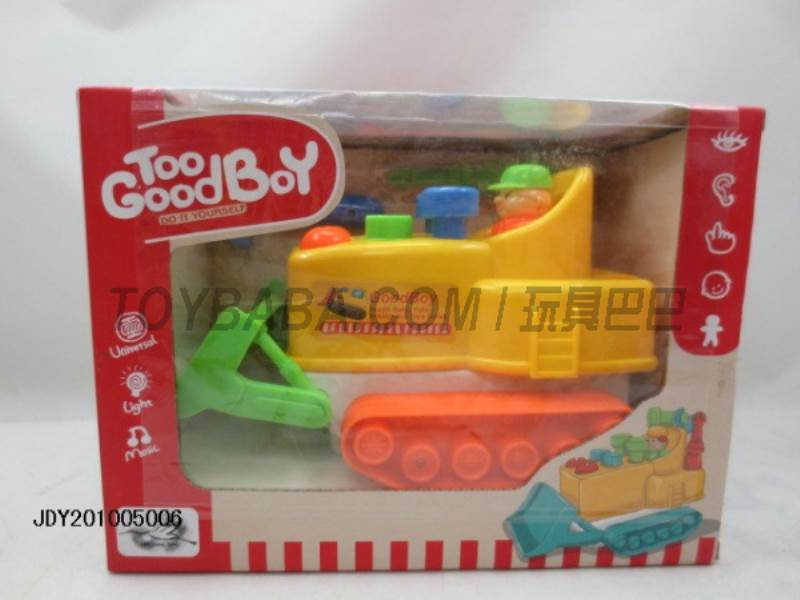 Electric universal sound and light truck No.:1068A-1