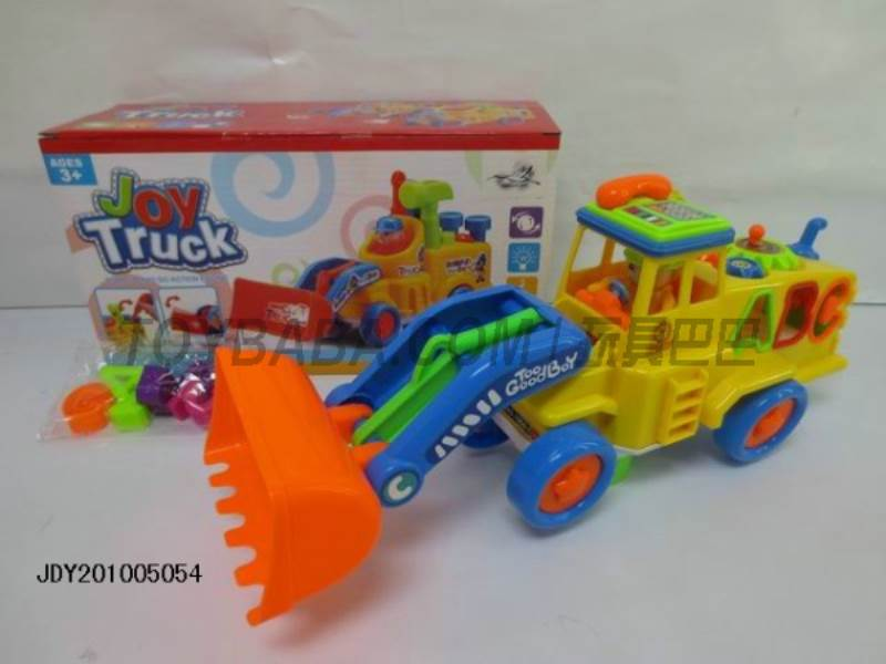 Electric universal sound and light truck No.:1058-8