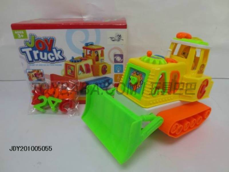 Electric universal sound and light truck No.:1068-8