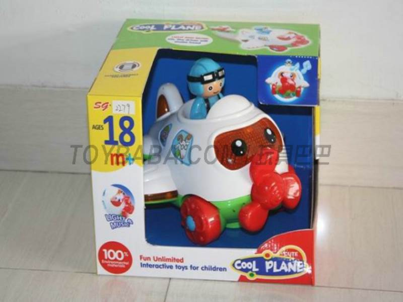 Electric cartoon airplane universal does not include 3AA ( corresponding to the service) No.:SG-2279