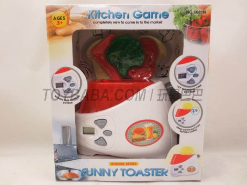 Electric liquid crystal toaster No.:6001N