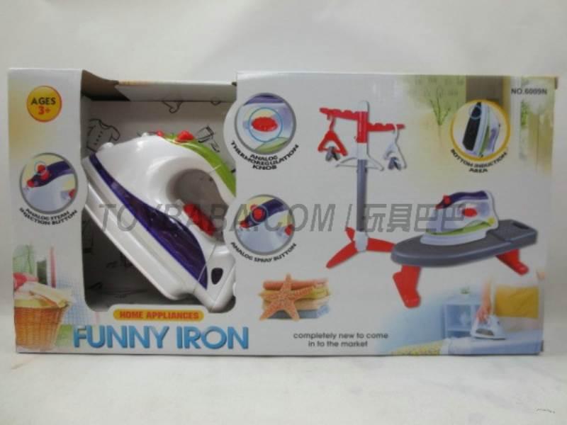 Electric iron plus accessories No.:6009N
