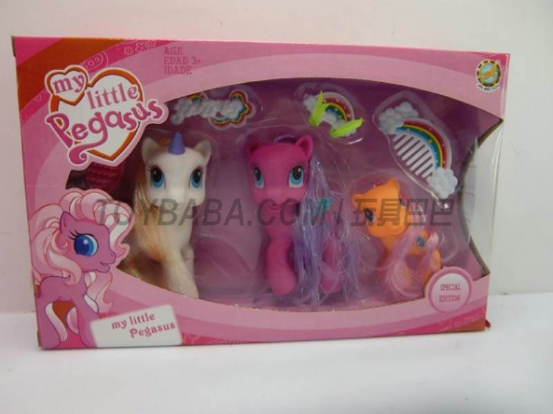 Cartoon Horse (change of packaging not tort)  No.:6610D