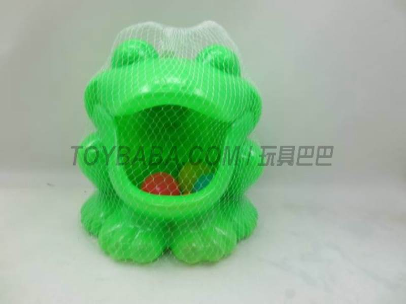 Frog containing ball No.:104