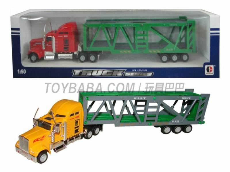 Sliding alloy truck No.:1807-1B
