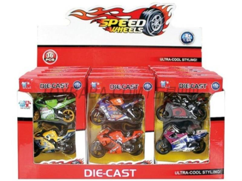 1:64 Motorcycles ( sliding) No.:XY022