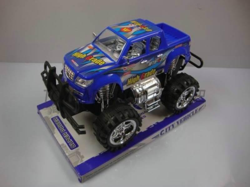 Inertia off-road pickup truck No.:8808