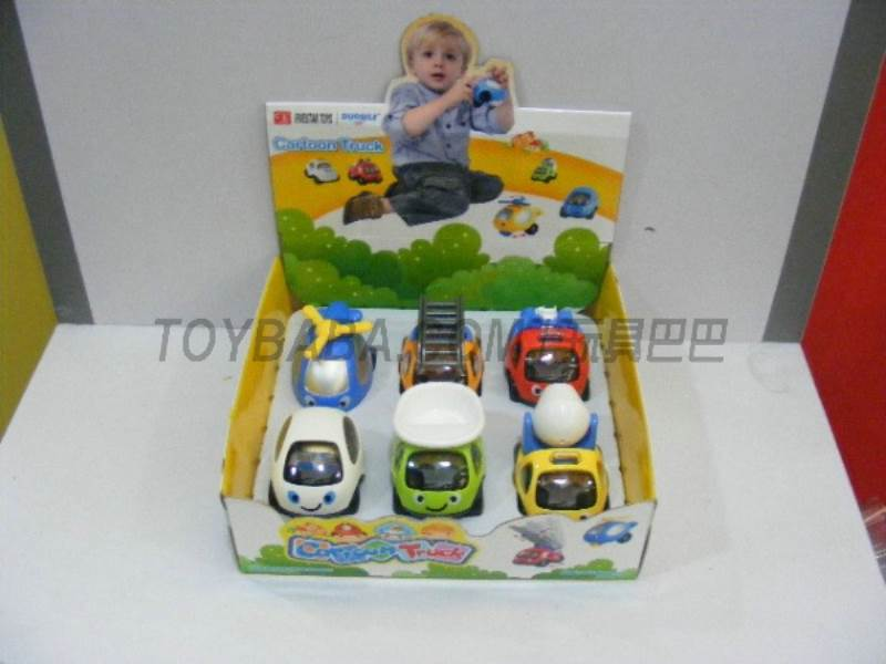 Six cartoon truck loaded No.:FS-34707