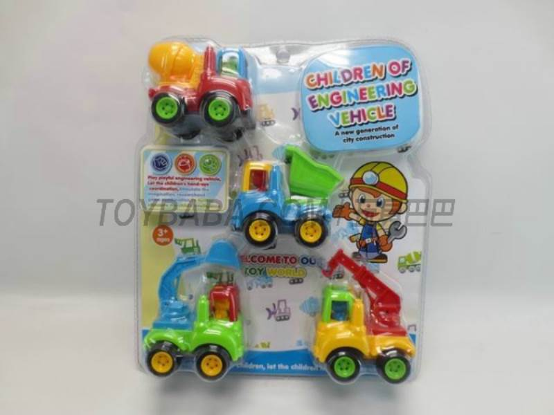 Inertia cartoon truck No.:6818