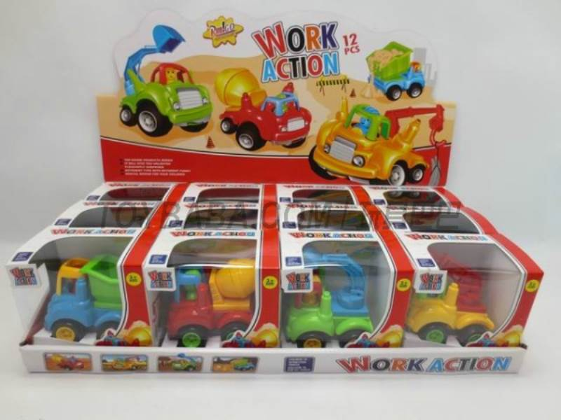 Inertia cartoon truck ( 12 Pack) No.:6826
