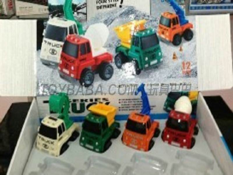 Inertia cartoon truck ( 12 Pack) No.:6831