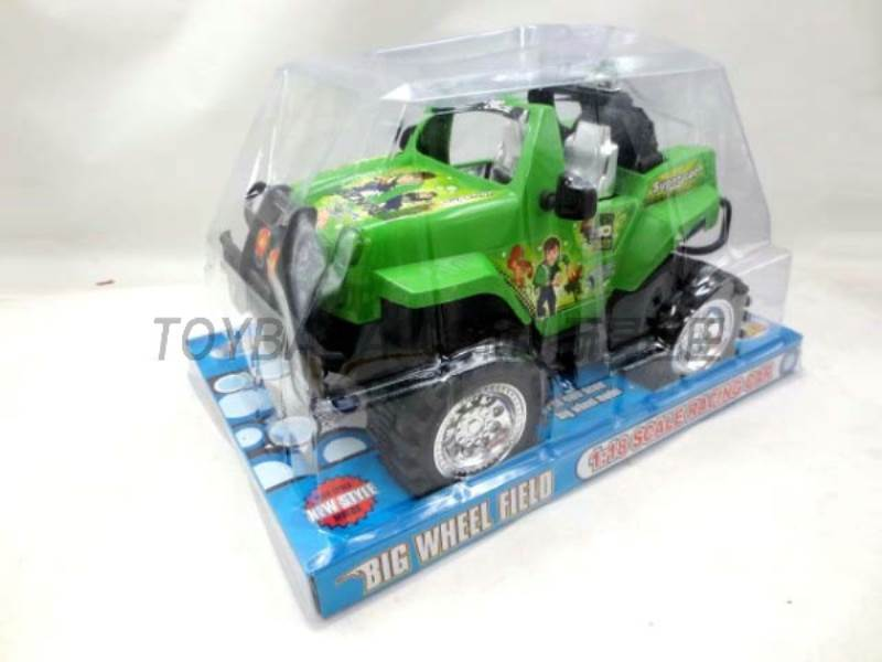 BEN10 FRICTION CAR No.:95510