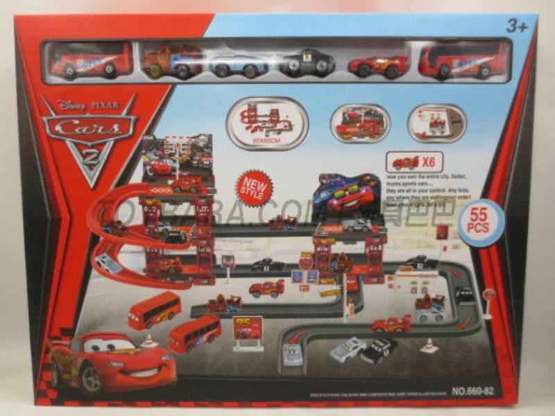 Story Parking Set (55PCS) No.:660-82