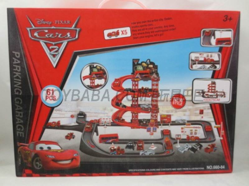 Story Parking Set (61PCS) No.:660-84