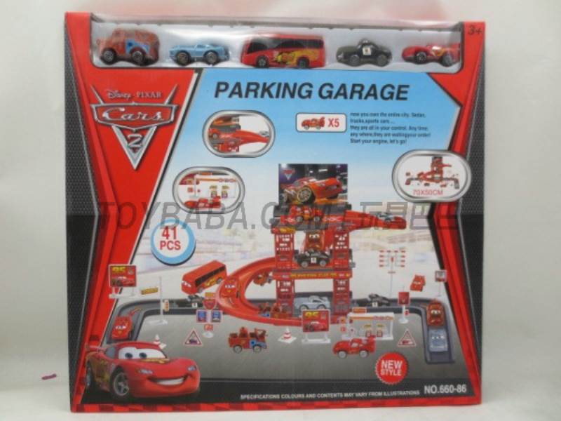 Story Parking Set (41PCS) No.:660-86
