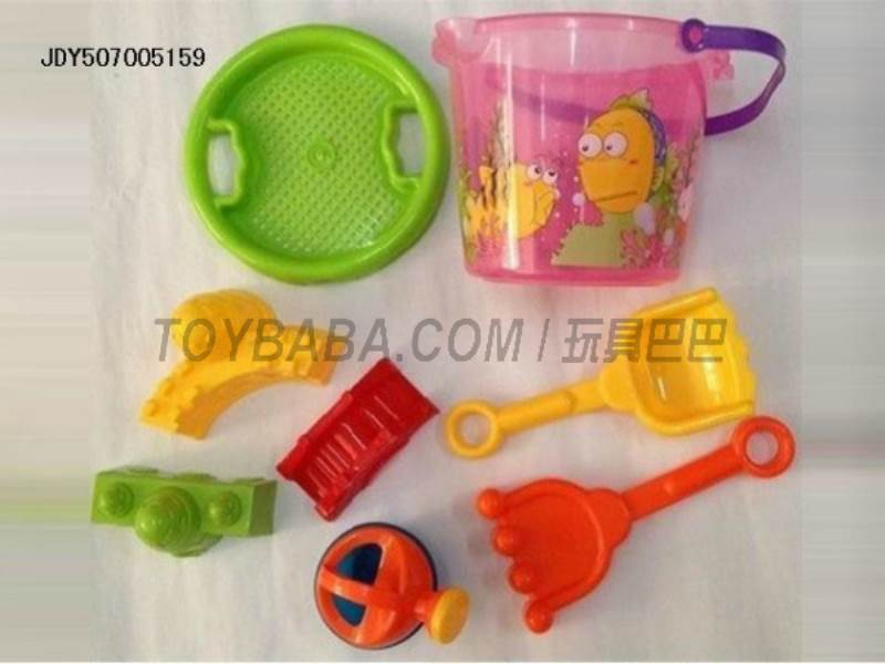 Beach bucket (8pcs) No.:099A