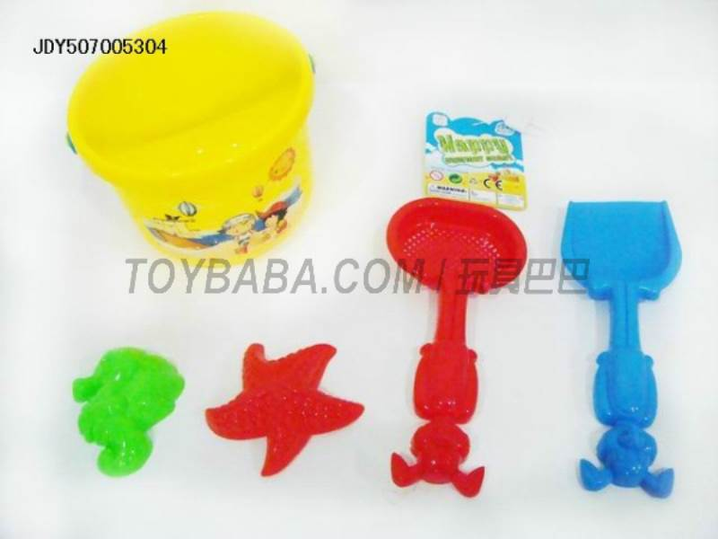 Beach bucket 5PCS No.:6633